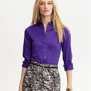 Banana Republic Non- Iron Fitted Shirt 2P